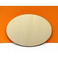 Ovale senza mensola - 29 cm