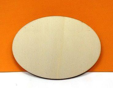 Ovale senza mensola - 14 cm