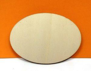 Ovale senza mensola - 19 cm