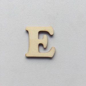 E - 1 cm