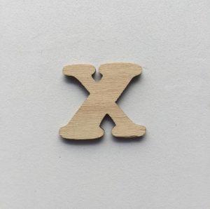X - 1 cm