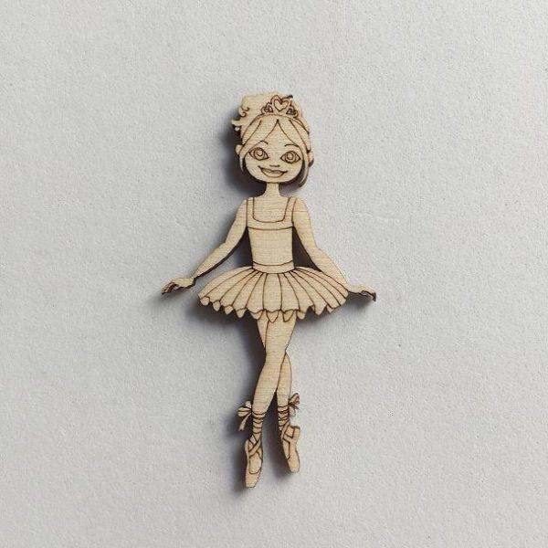 NUOVO Ballerina Gambe Unite Grande