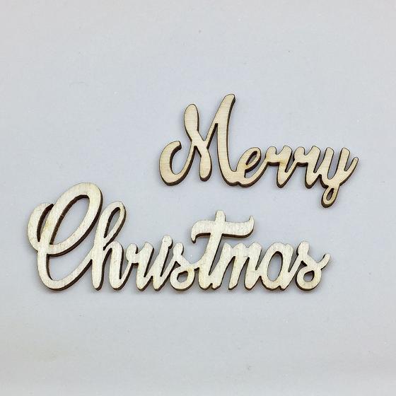 NUOVO Merry Christmas Sciolto - Grande