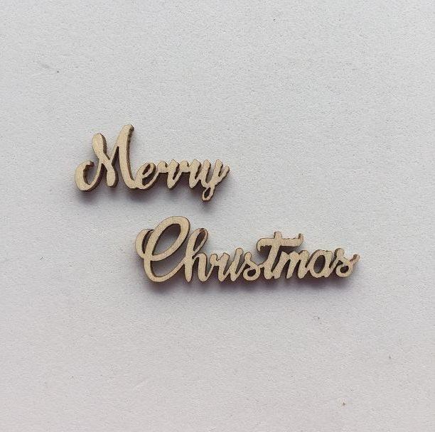 NUOVO Merry Christmas Sciolto - Piccolo